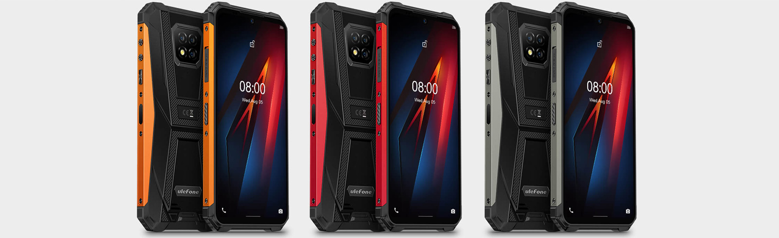 Ulefone unveils the Armor 8 with a 6.1-inch HD+ display, Helip P60 chipset