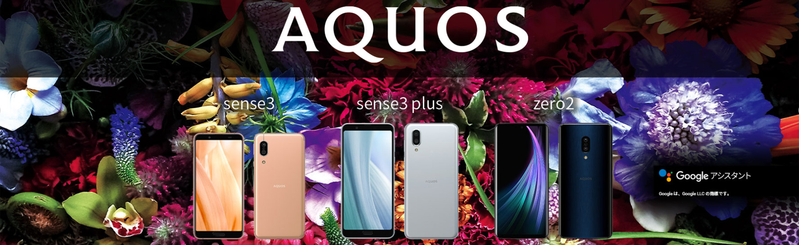 The Sharp Aquos Sense3 series of smartphones is official