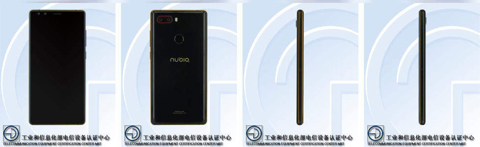 nubia NX595J (probably named Z17S) clears TENAA, will pack two front and two rear cameras