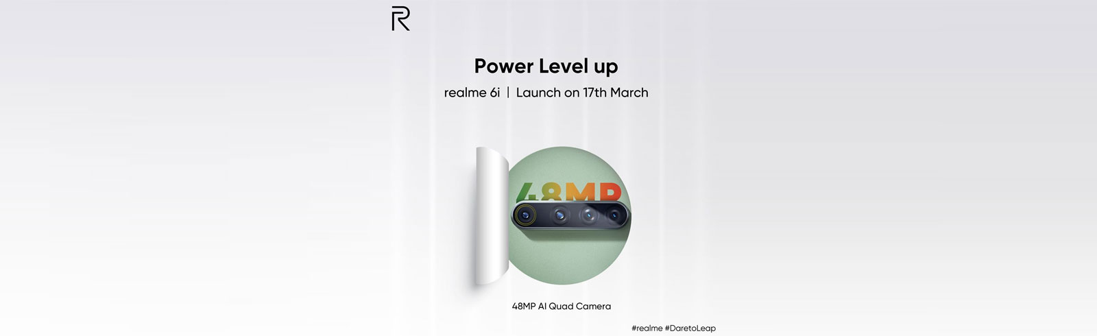 Realme 6i with Helio G80 chipset and 48MP quad-camera will be announced on March 17