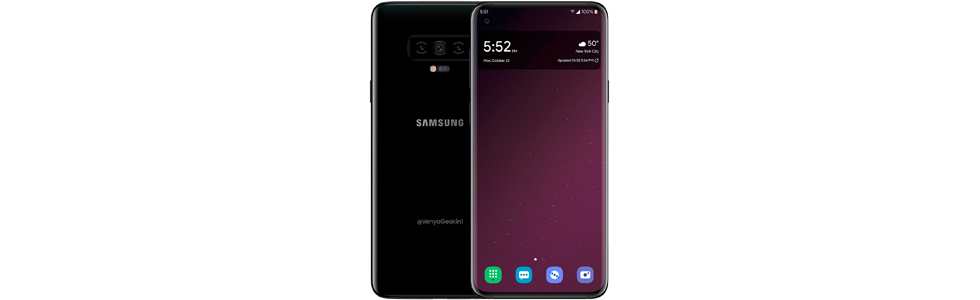 Confirmed: Samsung Galaxy S10 to have three variants, the basic one will use a flat OLED panel