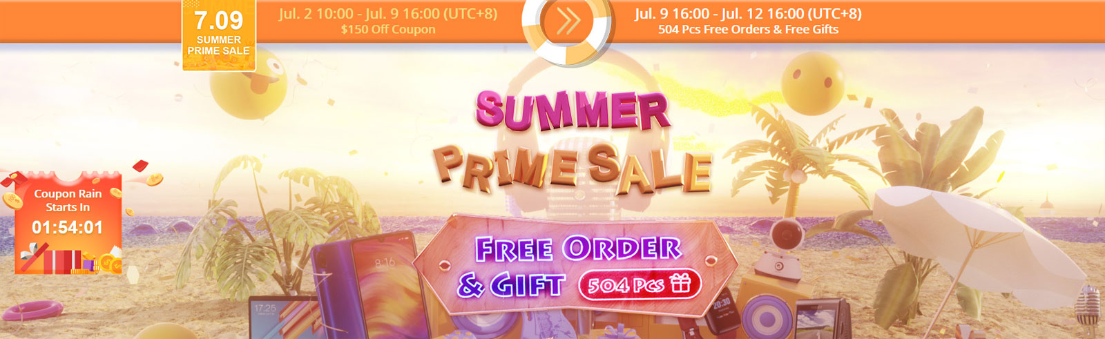 Banggood's Summer Prime Sale is on with coupons and deals on smartphones