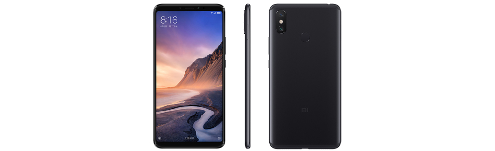 """Xiaomi presents the Mi Max 3 with a Snapdragon 636 chipset, 6.9"""" FHD+ display"""