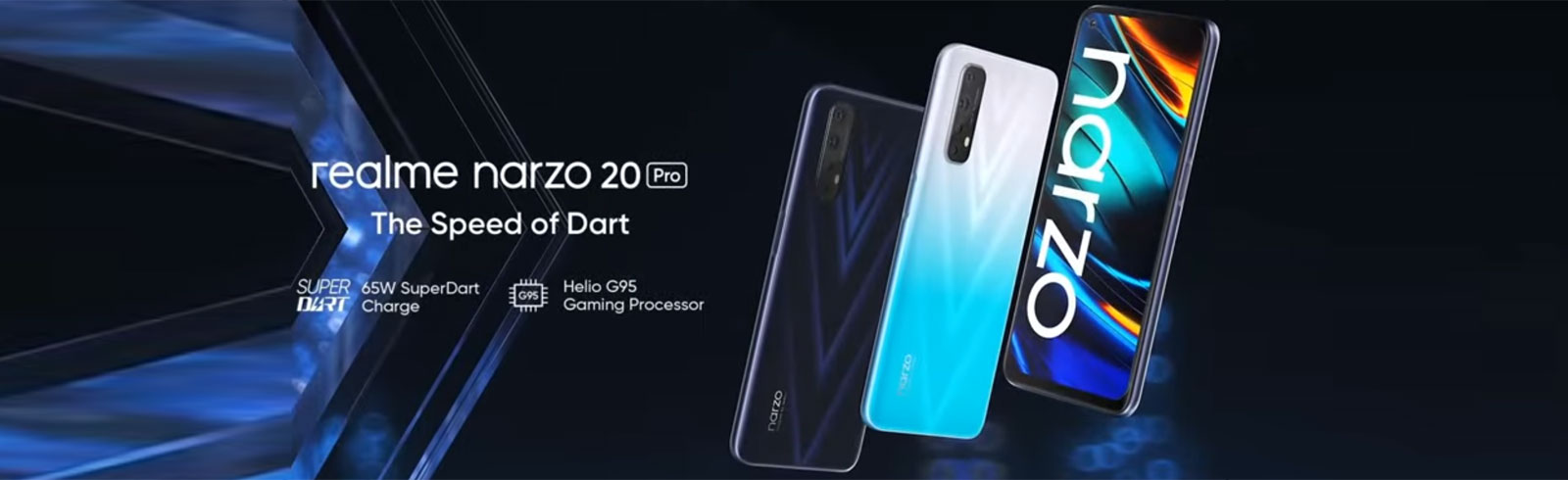Realme Narzo 20, Narzo 20 Pro, and Narzo 20A are official, will launch on September 21st