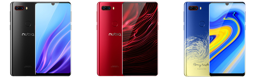 """nubia Z18 is official with an FHD+ 5.99"""" display, SD 845, 3450 mAh battery"""