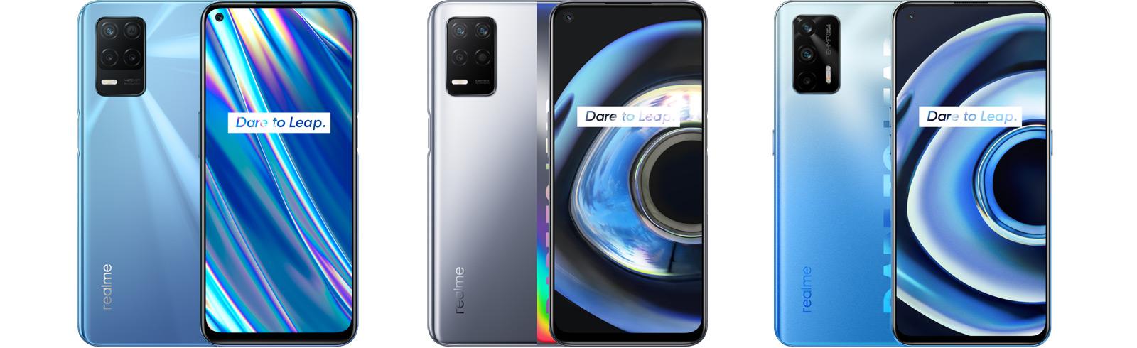 Realme Q3 Pro 5G, Q3 5G, and Q3i 5G are unveiled in China