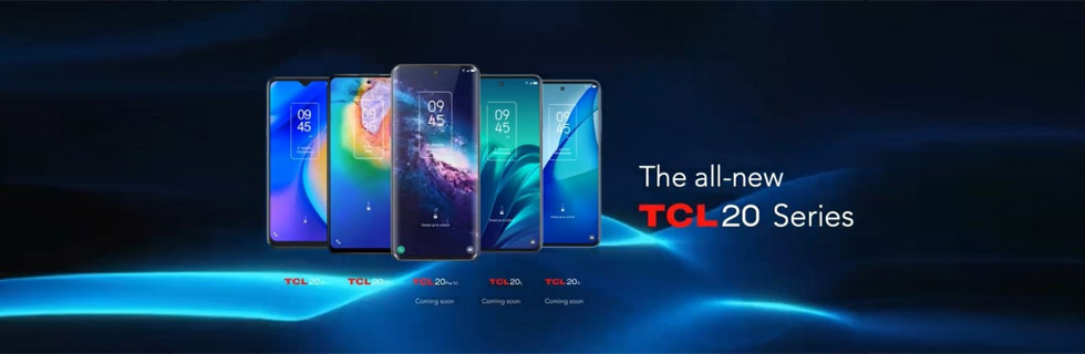 TCL 20 5G and TCL 20 Se go official at CES 2021 with NXTVISION 2.0 visual technology