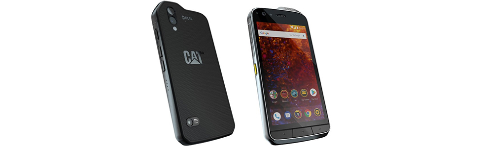 Cat S61 is announced, features a thermal FLIR Lepton camera and an IP68 body