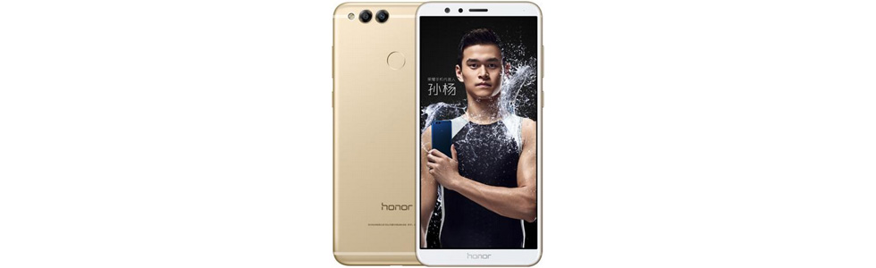 Huawei unveils Honor 7X with two rear cameras and a 5.93-inch FHD+ display