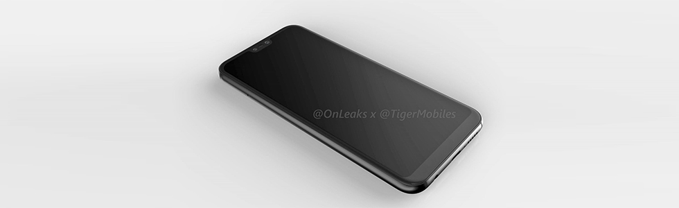Huawei P20 Lite renders leak unveiling its notched screen