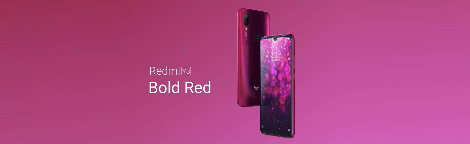 Xiaomi Redmi Y3 has been announced in India