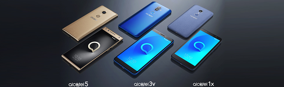 TCL's Alcatel announces an all-new smartphone portfolio for 2018