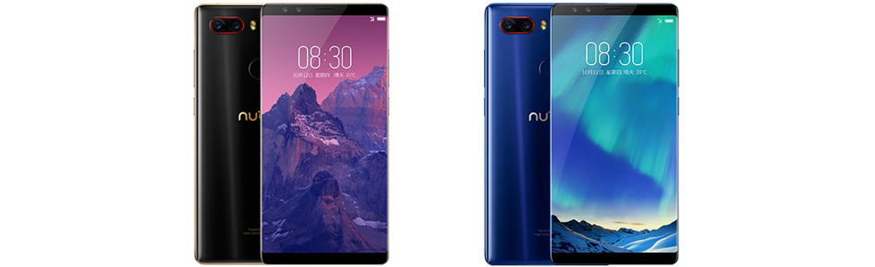 nubia Z17S and nubia Z17miniS are official