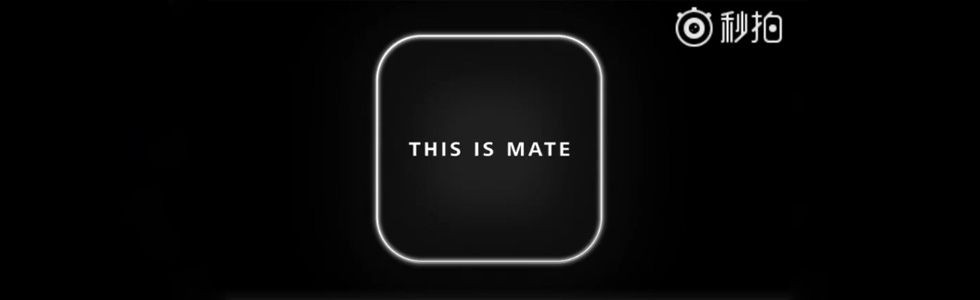 The square camera module on the Mate 20 and Mate 20 Pro is confirmed