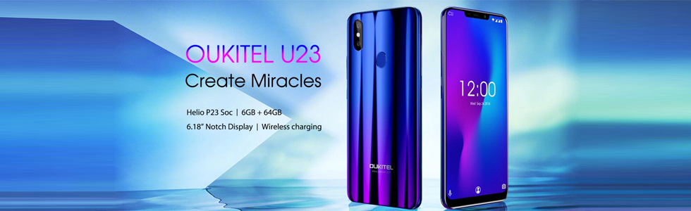 Oukitel U23 specifications are confirmed
