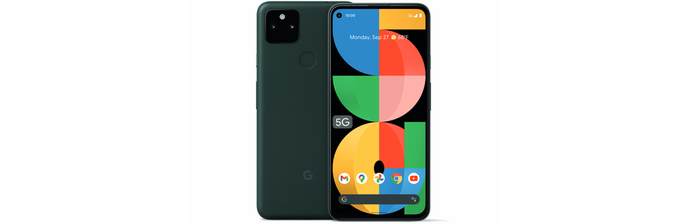 The Pixel 5a is unveiled with Snapdragon 765G, water resistance