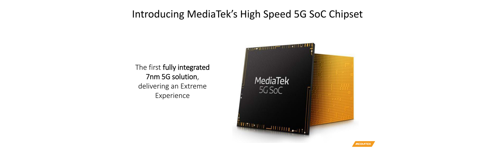 MediaTek 5G SoC unveiled at Computex 2019