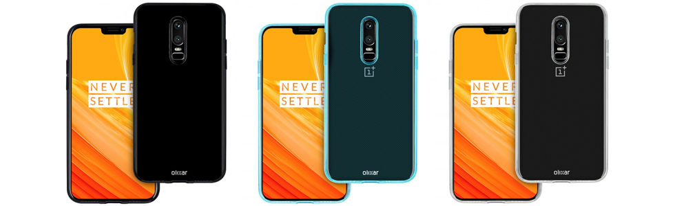 OnePlus 6 design leaks via a seller of OnePlus cases
