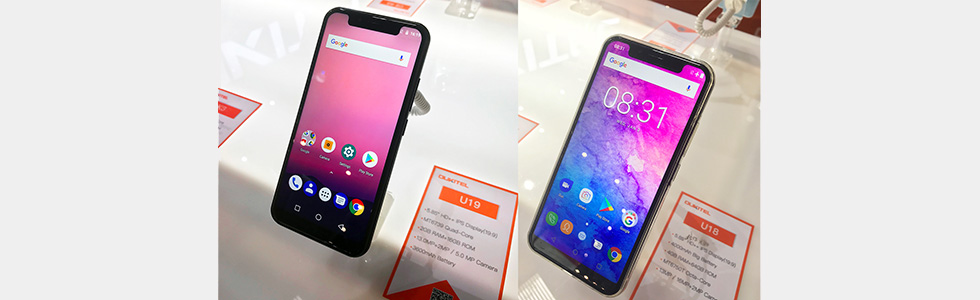Oukitel showcases the U19 and WP5000 at the MWC 2018
