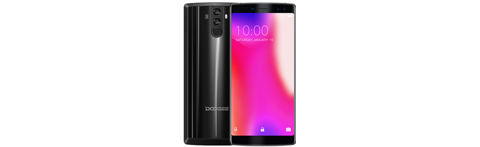 Doogee BL12000 released. Features a 12000 mAh battery and a 130-degree front camera