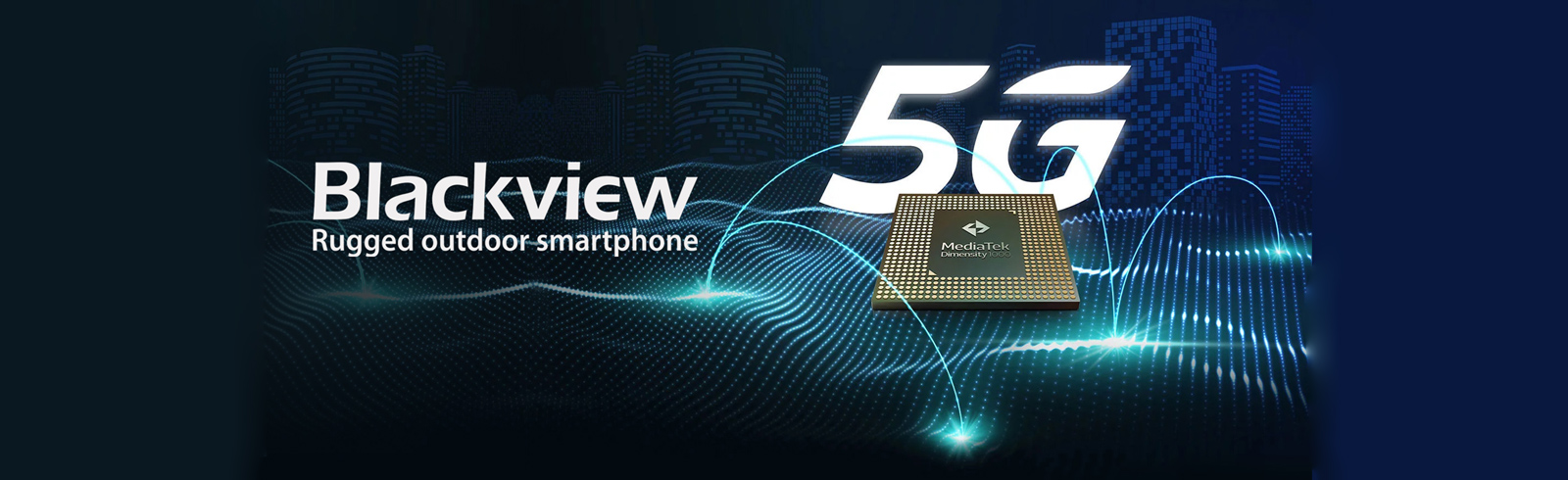 Blackview will launch the first 5G rugged smartphone with MediaTek's Dimensity 1000 chipset