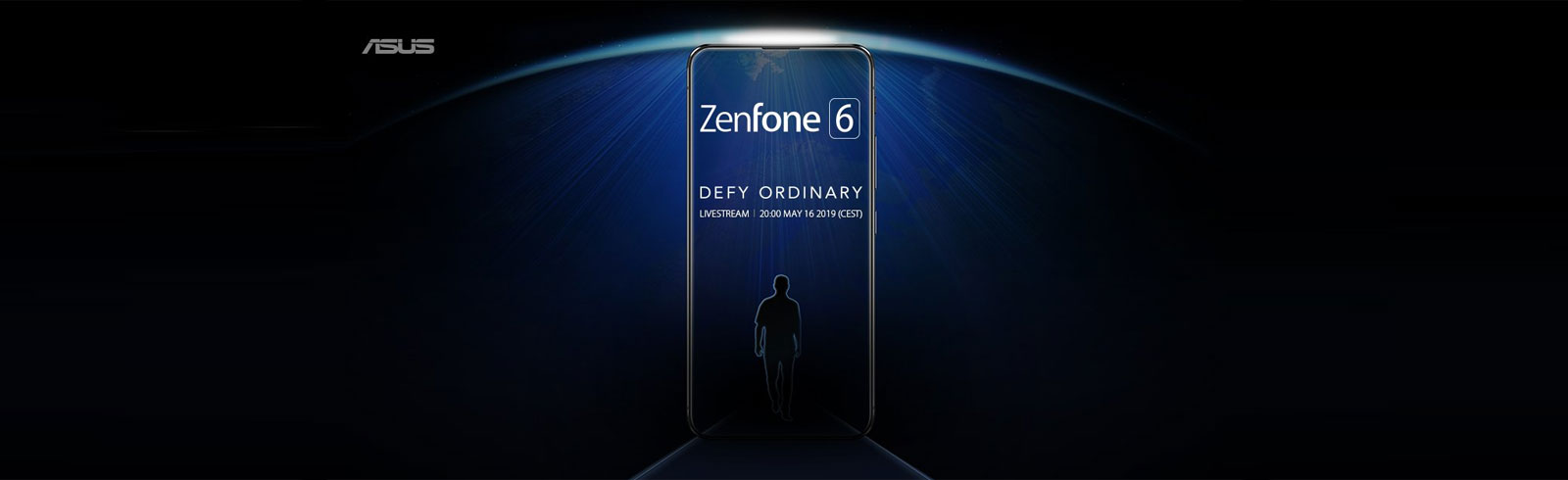 Asus teases the ZenFone 6 line of smartphones, will announce them on May 16