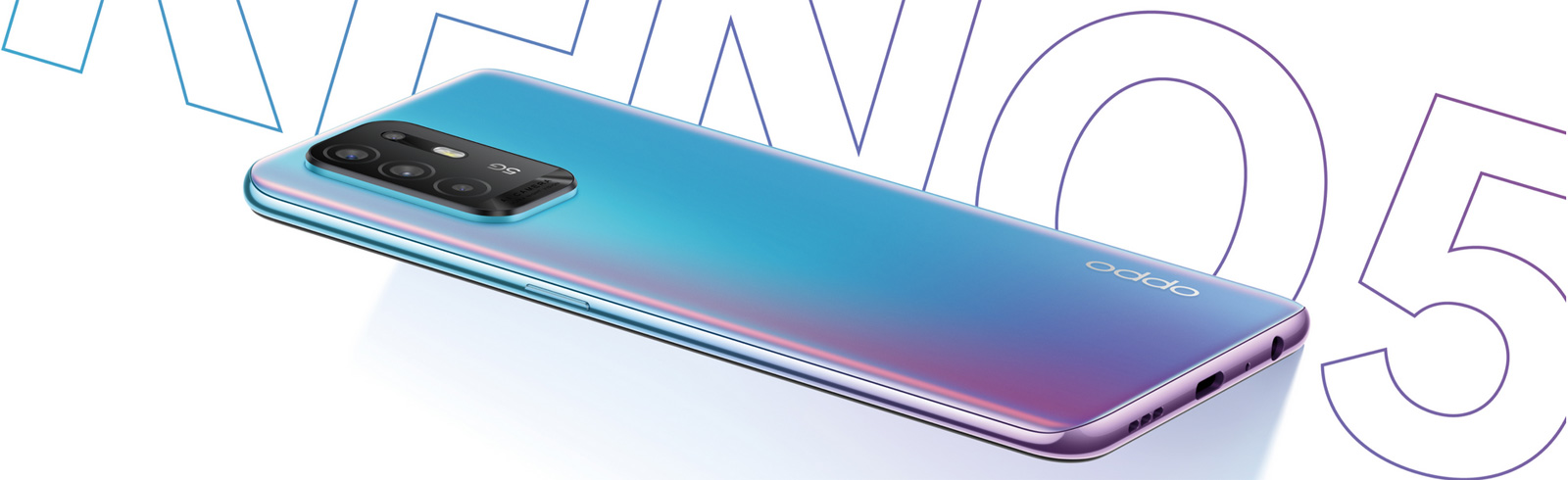 Oppo Reno5 Z 5G is launched in the Middle East and South-East Asia