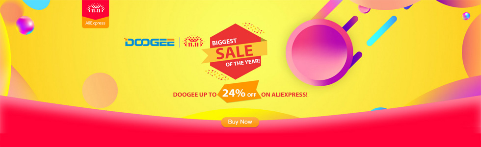 Doogee offers up to 24% discounts on 11.11