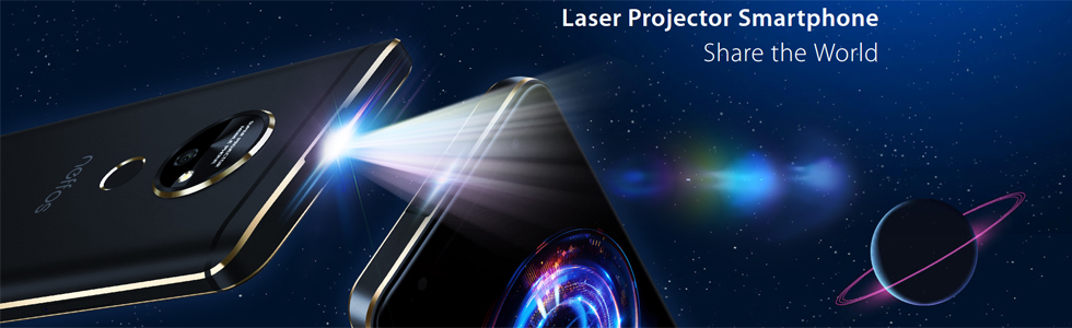 TP-Link unveils the Neffos P1, features a MEMS laser projector
