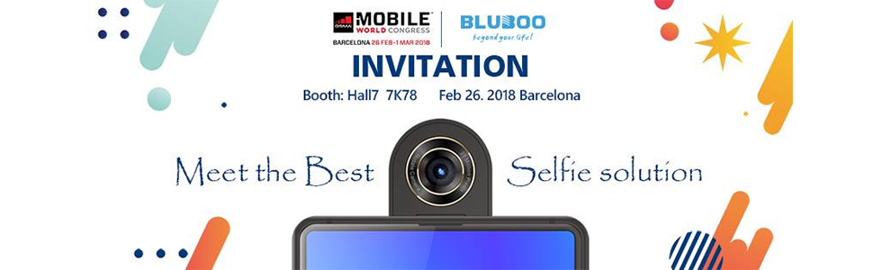 Bluboo S2 - a full-screen smartphone with a rotating camera