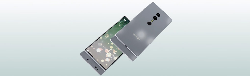 Doogee releases the design concept of an upcoming full-screen smartphone