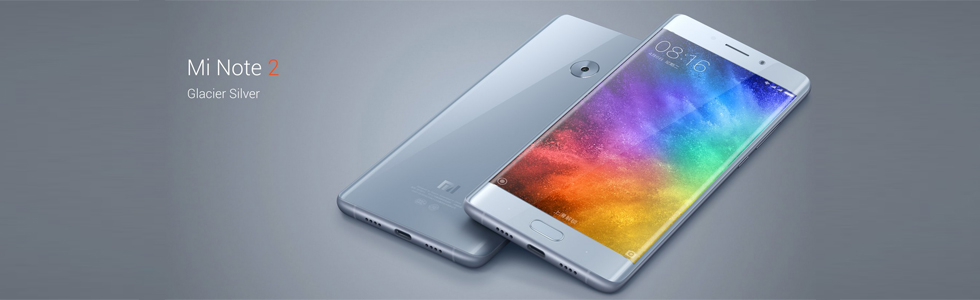 Xiaomi Mi Note 2 is official with a 5.7-inch curved OLED display