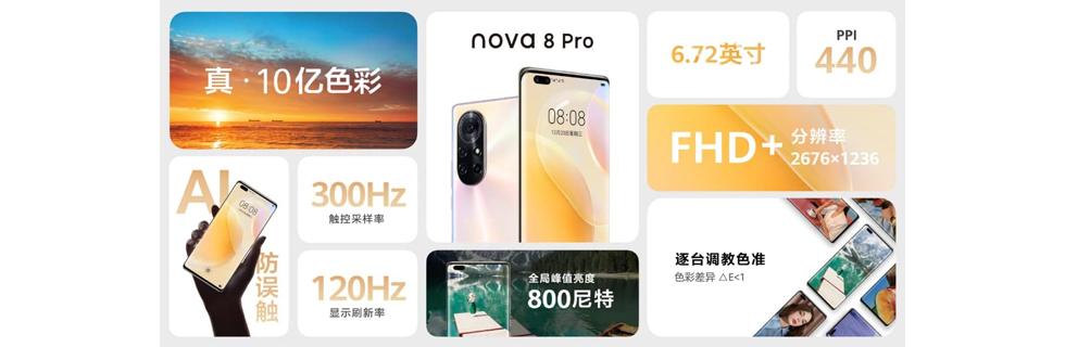 Huawei Nova 8 and Nova 8 Pro go official