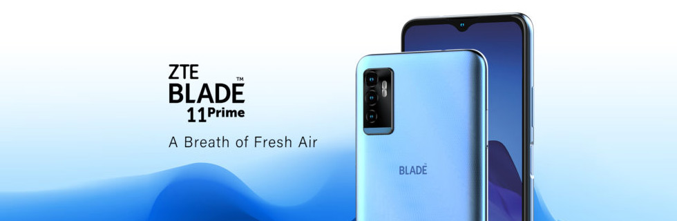 The ZTE Blade 11 Prime arrives at Visible and Yahoo Mobile