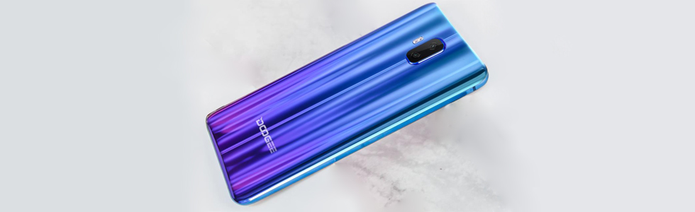 Doogee V arrives in two colours - Aurora Blue and the special Twilight