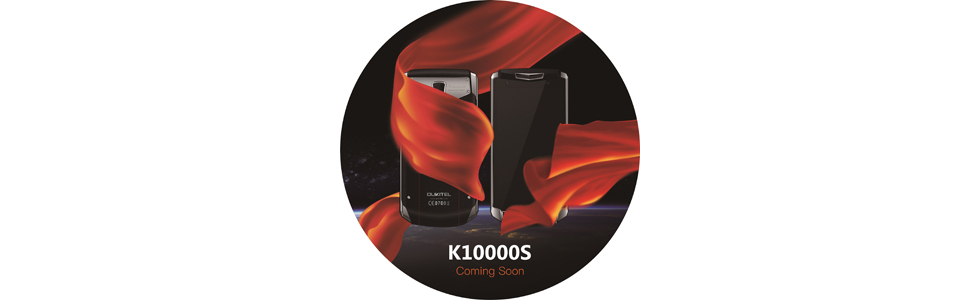Oukitel to unveiled the K10000s - the same 10000 mAh battery inside but in a lighter package