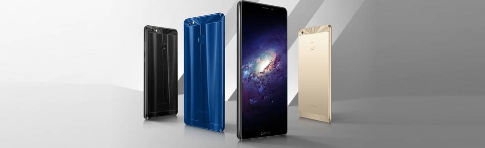 Gionee M7 Power is officially presented at the Thailand Mobile Expo 2017