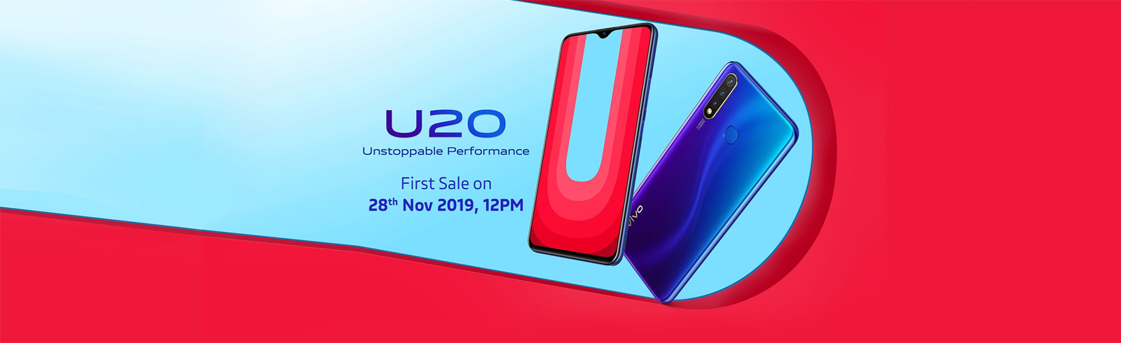 Vivo India launches the Vivo U20 with a 5000 mAh battery and a Snapdragon 675 chipset