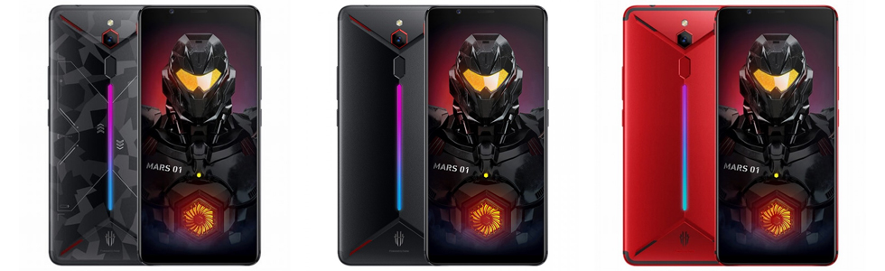 nubia announced the Red Magic Mars with 10GB of RAM