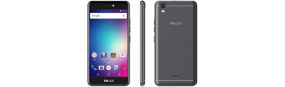"BLU Studio G Max is an entry-level 3G smartphone with a 5.2"" HD display and a 2300 mAh battery"