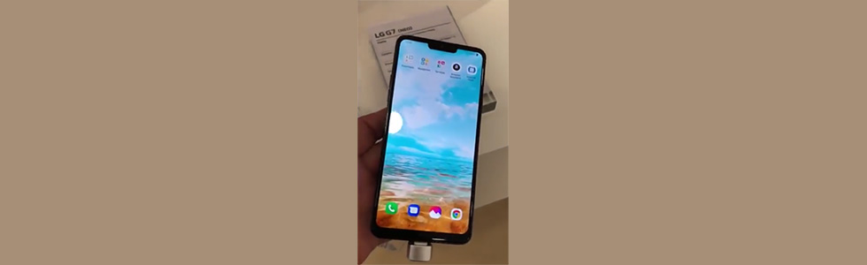 LG G7 (Neo) leaks in photos and a video