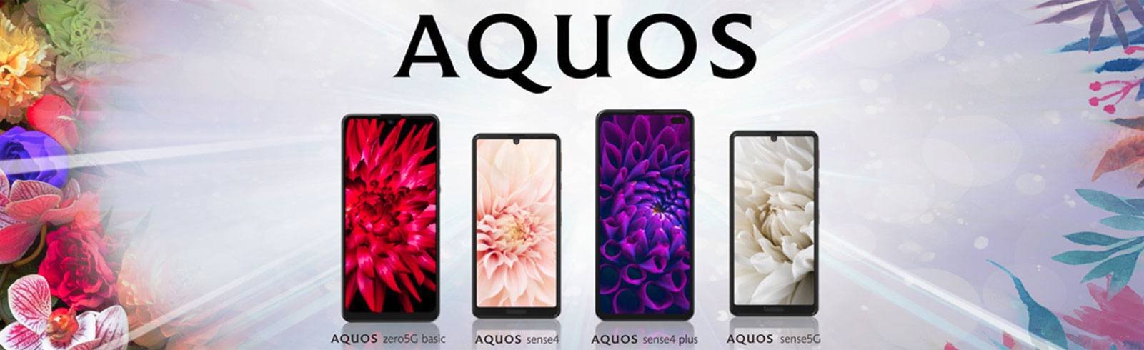 Sharp Aquos Sense4, Aquos Sense4 Plus, Aquos Sense5G, and zero5G Basic go official
