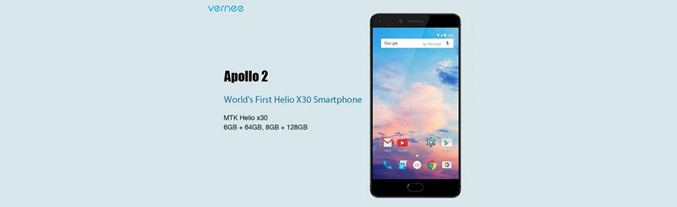 Vernee Apollo 2 and Vernee V2 will debut at the MWC 2018 later this week