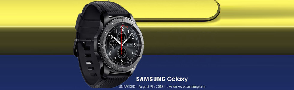 The Galaxy Watch is unveiled with stand-alone LTE connectivity