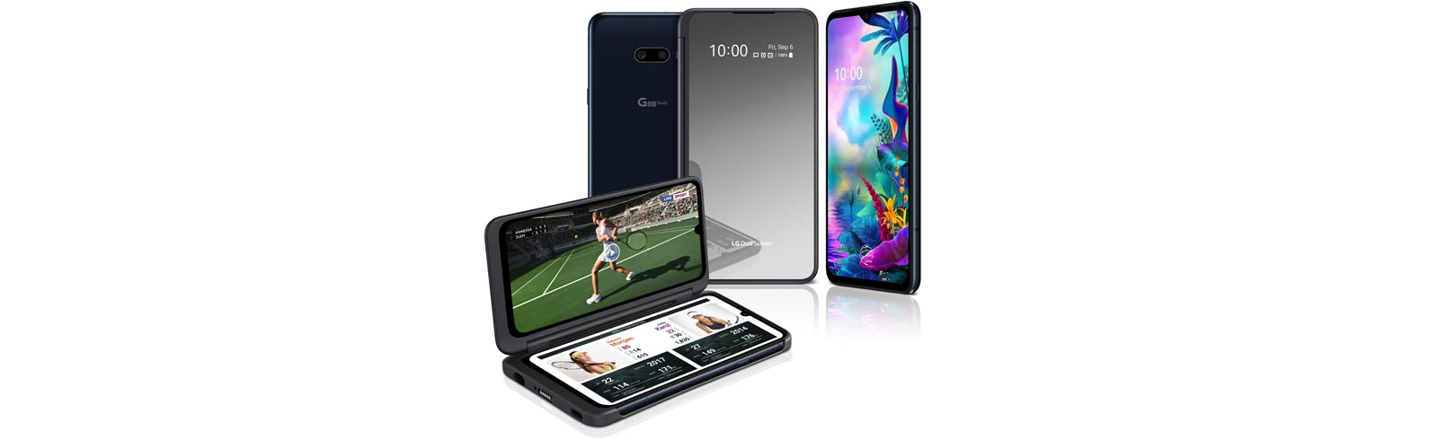 LG unveils the LG G8X ThinQ and the LG V50S ThinQ 5G at IFA 2019