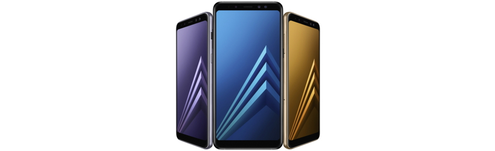 Samsung announces the Galaxy A8(2018) and Galaxy A8+(2018) with Inifinity displays and dual front cameras