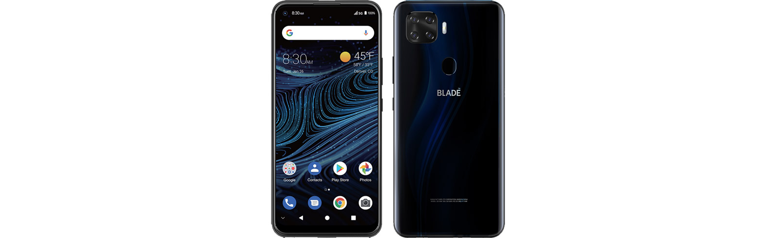 ZTE Blade X1 5G goes official with a quad AI camera, 6.5-inch display, and DTS:X Ultra audio