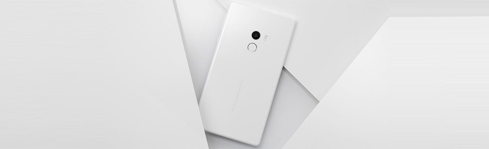 Xiaomi introduced a white Mi MIX at the CES 2017