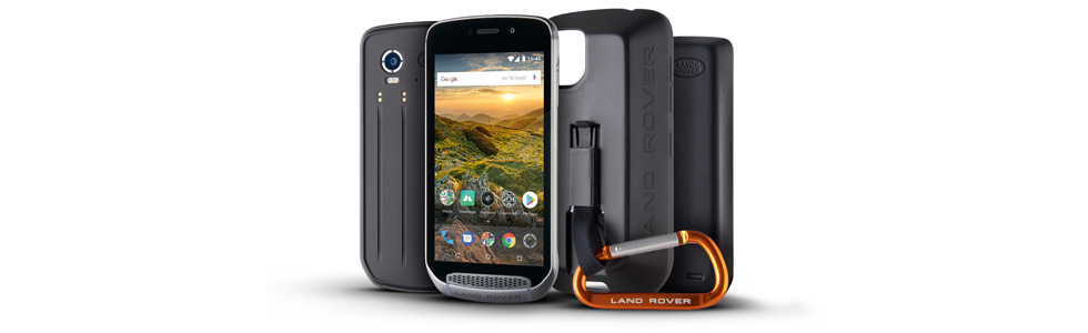 Land Rover Explore - a smartphone made for the great outdoors