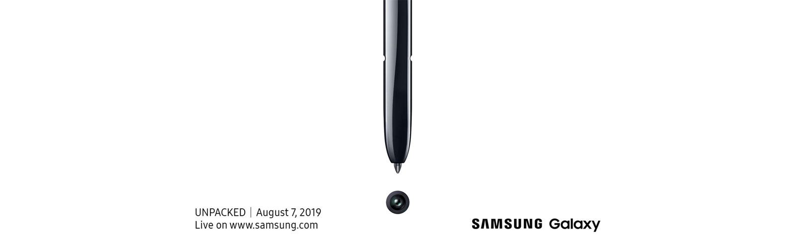 It's official: Samsung will present the Galaxy Note 10 on August 7